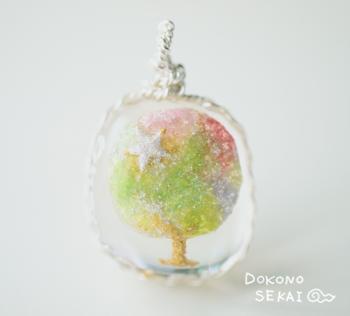 宇宙の森の天使の樹
