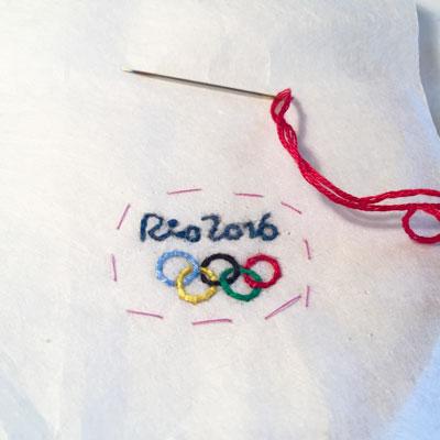 リオ 刺繍